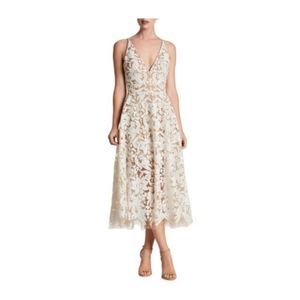 Sequin Lace Fit and Flare